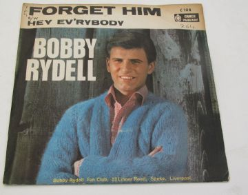 "Bobby Rydell FORGET HIM 1963 UK 7"" P/S EX+ AUDIO"